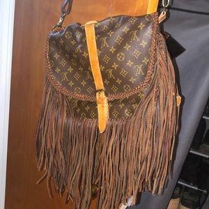 COPY - Custom LV cross body and shoulder bag.